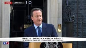 "David Cameron : ""D'ici octobre, il faudra choisir un nouveau dirigeant"""