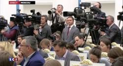 """Hollande : """"Il est clair que Bachar n'a pas sa place dans l'avenir de la Syrie"""""""