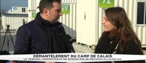 """Jungle"" de Calais : ""Offrir des conditions plus dignes aux populations"""