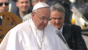 Le pape François à Naples, le 21/3/15