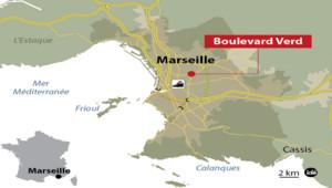 Un quinquagénaire sequestré et torturé chez lui, au Boulevard Verd dans le quartier de Saint-Just à Marseille.