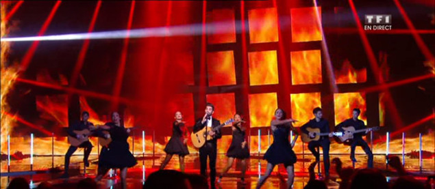 Kendji Girac interprète « Color Gitano » en direct NRJ Music Awards