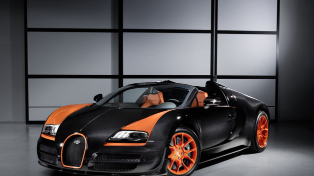 photos automoto la bugatti veyron grand sport vitesse. Black Bedroom Furniture Sets. Home Design Ideas