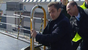 Cherbourg Sarkozy Armée Défense
