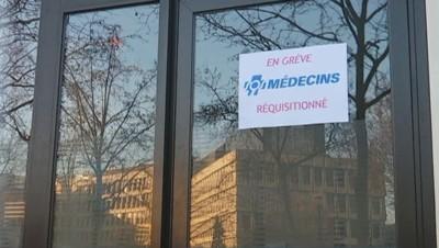Grève à SOS Médecins, le 25 janvier.
