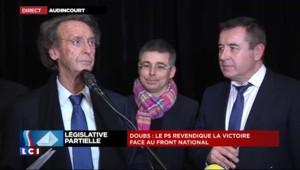 Législative du Doubs : le maire d'Audincourt annonce la victoire du candidat PS