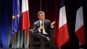 Nicolas Sarkozy à Troyes, le 3/10/14