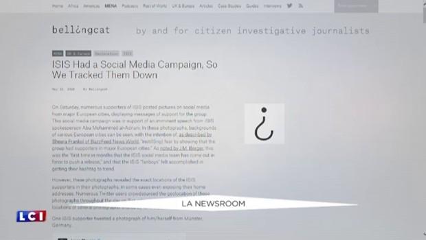 Des sympathisants de Daech en Europe localisés grâce à un site d'enquête citoyenne