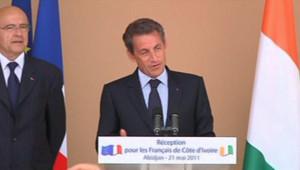 Discours de Nicolas Sarkozy en Côte d'Ivoire, le 21 Mai 2011