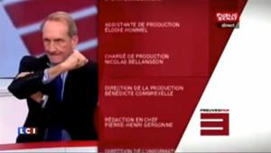 Le bras d'honneur de Gérard Longuet : les images
