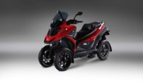 Quadro4, premier scooter 4 roues lancé début 2014