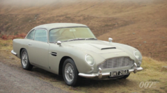 Aston martin DB5 James Bond Skyfall