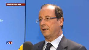 """Hollande : """"la lutte contre le terrorisme doit être poursuivie sans relâche"""""""
