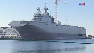 Le 13 heures du 4 septembre 2014 : Suspension de la livraison des navires Mistral : l'inqui�de r�e �aint-Nazaire - 554.5958404083251