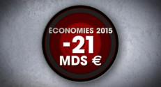 Le 20 heures du 29 octobre 2014 : Comment le gouvernement va-t-il s%u2019y prendre pour �nomiser 21 milliards d%u2019euros? - 655.404
