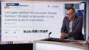 """Louis Sarkozy, """"fier de son père"""""""