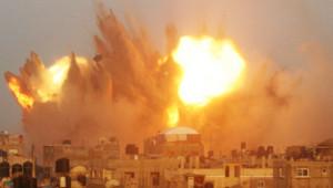 Rafah : explosion après un raid israélien dans la matinée du 11/7/14