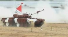 tank biathlon Russie