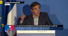 """François Fillon : """"Oui au peuple, non à la cohabitation"""""""