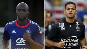 Lassana Diarra et Hatem Ben Arfa