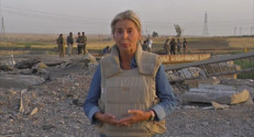 Le 20 heures du 19 septembre 2014 : Irak : les r�gi�Kurdes satisfaits des premi�s frappes de la France - 1645.285