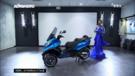 Le Piaggio MP3 500 ABS 2014 en exclusivité dans l'émission Automoto du 20 avril 2014 sur TF1