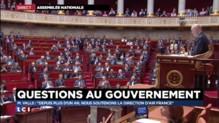 """Manuel Valls : """"Depuis plus d'un an, nous soutenons la direction d'Air France"""""""