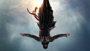 Michael Fassbender dans la peau d'un Assassin en plein saut de l'ange