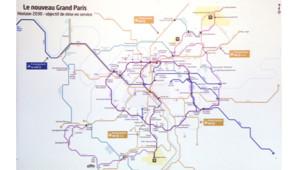 Présentation du Grand Paris Express le 6 mars 2013 par Jean-Marc Ayrault.
