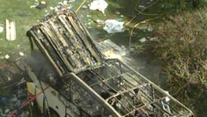 TF1-LCI : Un car transportant des pèlerins polonais s'est écrasé près d'un torrent à Vizille, en Isère, le 22 juillet 2007
