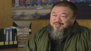 L'artiste dissident chinois Ai Weiwei.