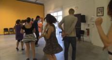 Le 13 heures du 16 septembre 2014 : Une �le de danse fait sa rentr�- 1628.1924434204102
