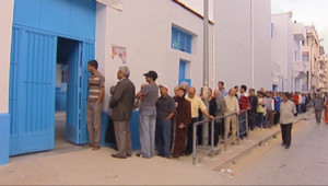 Le 13 heures du 26 octobre 2014 : Tunisie : premi�s �ctions cruciales depuis la r�lution - 184.034