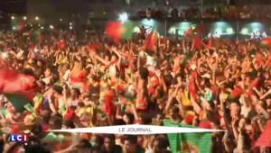 Le Portugal remporte l'Euro : klaxons et feux d'artifice dans les rues de Lisbonne