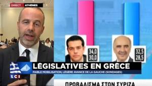 """Législatives grecques : """"Tsipras se représente avec une manière d'assumer ses échecs"""""""