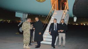 Le président américain Barack Obama a fait une visite surprise en Afghanistan, le 1er mai 2012.