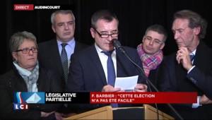 """Législative dans le Doubs : le candidat PS """"ne pavoise pas"""""""