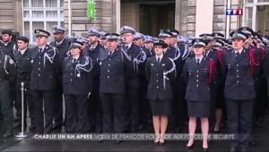 Les vœux de François Hollande aux forces de sécurité : entre hommage et annonces