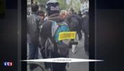 Loi travail : jet de bombe incendiaire et arrestations, les heurts diffusés sur les réseaux sociaux