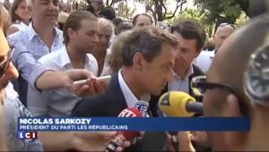 """Sarkozy : """"Pas besoin d'un Parlement de plus"""""""