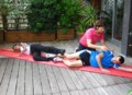 Exercice de gym pour raffermir les cuisses