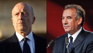 François Bayrou, le maire de Paul et Alain Juppé, le maire de Bordeaux