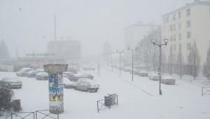 La neige à Maubeuge, capturée par une internaute de TF1 News, le 10 février 2010.
