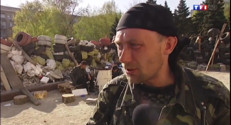 Le 20 heures du 18 avril 2014 : Ukraine : les militants s�ratistes d�rmin��oursuivre l%u2019action - 906.851852935791