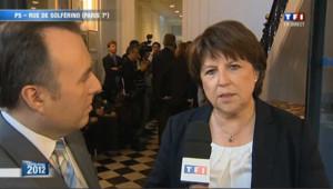 Le message de Martine Aubry à Ségolène Royal