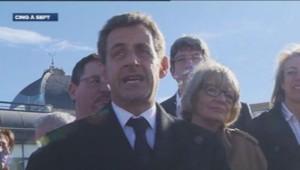Nicolas Sarkozy à Châteilallon