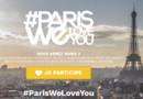 Page d'accueil du site parisweloveyou.fr
