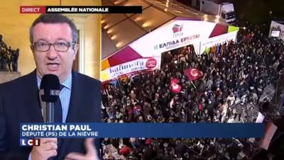 """Syriza peut être """"un allié de la France"""" selon un député PS"""