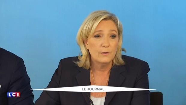 """Marine Le Pen : """"Je soutiens le référendum en Grande-Bretagne"""""""