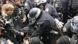 "Retour des militants d'""Occupy Wall Street"" près de la Bourse de New York"